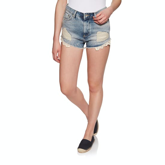 Shorts Femme Superdry Eliza Cut Off Denim