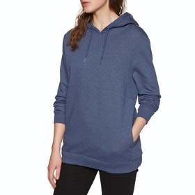 SWELL Decca Hood Womens Pullover Hoody - Navy Marle