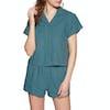 SWELL Beachside Womens Pyjamas - Mid Teal