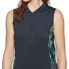 O Neill Front Zip Cap Sleeve Sun Shirt Rash Vest
