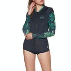 O Neill Skins Front-Zip Long-Sleeve Surf Suit Rash Vest