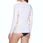 O'Neill Side Print Long Sleeve Rash Vest