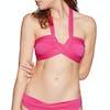 Haut de maillot de bain Seafolly Bandeau - Persian Pink