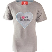 Horka Caliber Flippable Sequins Childrens Short Sleeve T-Shirt