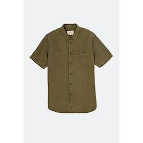 Folk Burner S S Shirt - Olive