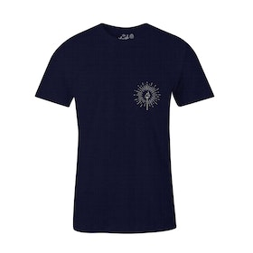 The Level Collective Burn Bright T Shirt - Navy