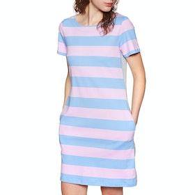 Joules Ottie Kleid - Blue Pink Stripe
