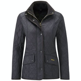 Barbour Cavalry Polar Quilt Ladies Jacket - Black