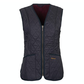 Barbour Fleece Betty Liner Ladies Gilet - Navy