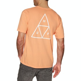 Huf Essentials Triple Triangle , Kortärmad T-shirt - Canyon Sunset