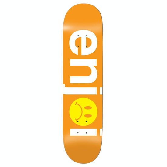 Enjoi Frowny Face No Brainer Hyb 8.125 Inch Skateboard Deck