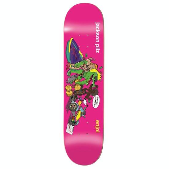 Enjoi Croc Lobster R7 8.25 Inch Skateboard Deck