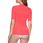 Roxy Whole Hearted Short Sleeve Ladies Rash Vest
