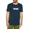 T-Shirt à Manche Courte Globe Box - Argon Blue