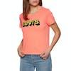 T-Shirt à Manche Courte Levi's Graphic Surf - Washed Neon Orange