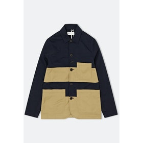 Giacca Universal Works Panel Bakers - Navy Sand