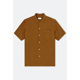 T-Shirt a Manica Corta Universal Works Road - Khaki