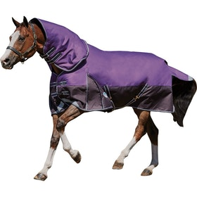 Weatherbeeta Comfitec Plus Dynamic Detach A Neck Lite Turnout Rug - Purple Black
