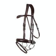 Montar Normandie Dressage Eco Leather Snaffle Bridle