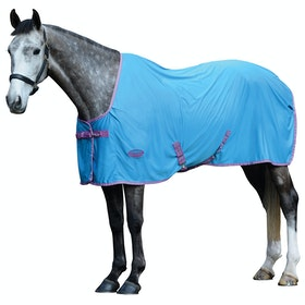 Weatherbeeta Ezi-dri Standard Neck Cooler Rug - Purple/blue
