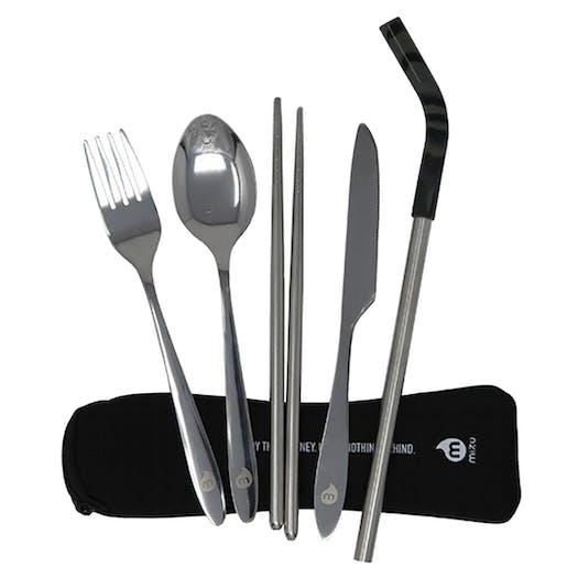 Mizu Straw and Cutlery