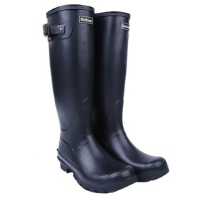 Barbour Bede Ladies Wellies - Black