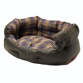 Barbour Wax Cot 24 Inch Pet Bed - Classic Olive