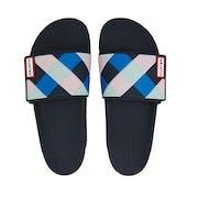 Hunter Original Adjustable Slide Weave Ladies Slip On Shoes