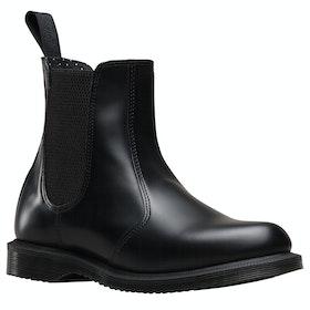 Dr Martens Flora Chelsea Ladies Boots - Black