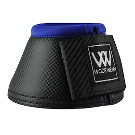 Woof Wear Pro Colour Fusion Over Reach Boots - Black Electric Blue