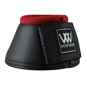 Woof Wear Pro Colour Fusion Over Reach Boots - Black Royal Red