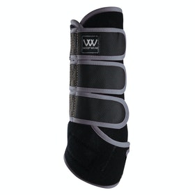 Woof Wear Training Colour Fusion Exercise Wrap - Black Brushed Steel