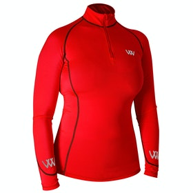 Woof Wear Performance Riding Colour Fusion Top - Royal Red