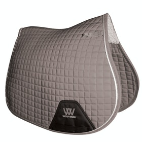 Woof Wear GP Colour Fusion Saddlepads - Brushed Steel