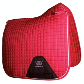 Woof Wear Dressage Colour Fusion Saddlepads - Royal Red