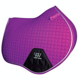 Woof Wear Close Contact Colour Fusion Saddlepads - Ultra Violet