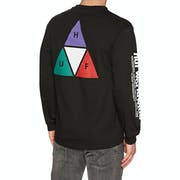 Huf Prism Triple Triangle Long Sleeve T-Shirt