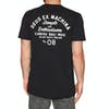 T-Shirt a Manica Corta Deus Ex Machina Canggu Address - Black