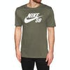 Nike SB Dfc Logo Short Sleeve T-Shirt - Medium Olive