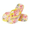 Joules Flip Flops Womens Sandals - Yellow Floral