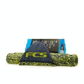 FCS Stretch Funboard Sock , Surfebrettbag - Ice Yellow