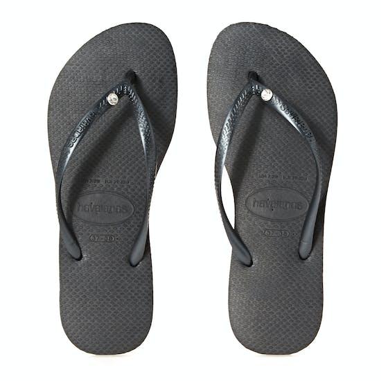 Havaianas Slim Crystal Glamour Womens Sandals