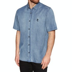 Globe Scorpio Short Sleeve Shirt - Bruise Blue