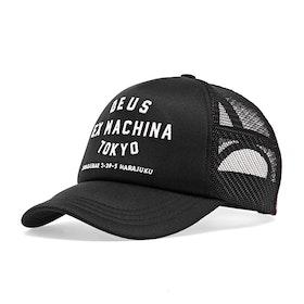Casquette Deus Ex Machina Tokyo Address Trucker - Black