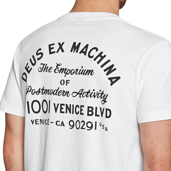 Deus Ex Machina Venice Address Mens Short Sleeve T-Shirt