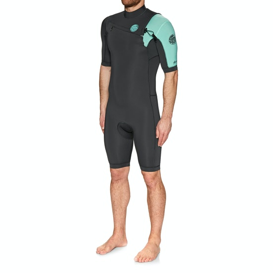 Rip Curl Aggro 2mm Chest Zip Shorty Wetsuit