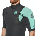 Rip Curl Aggro 2mm 2019 Chest Zip Short Sleeve Wetsuit