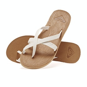 Roxy Gemma Womens Sandals - Cream
