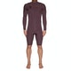 Quiksilver Highline Ltd 2/2mm Chest Zip Long Sleeve Shorty Wetsuit
