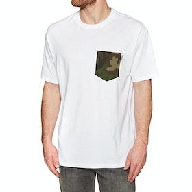 Carhartt Lester Pocket Short Sleeve T-Shirt - White Camo Laurel